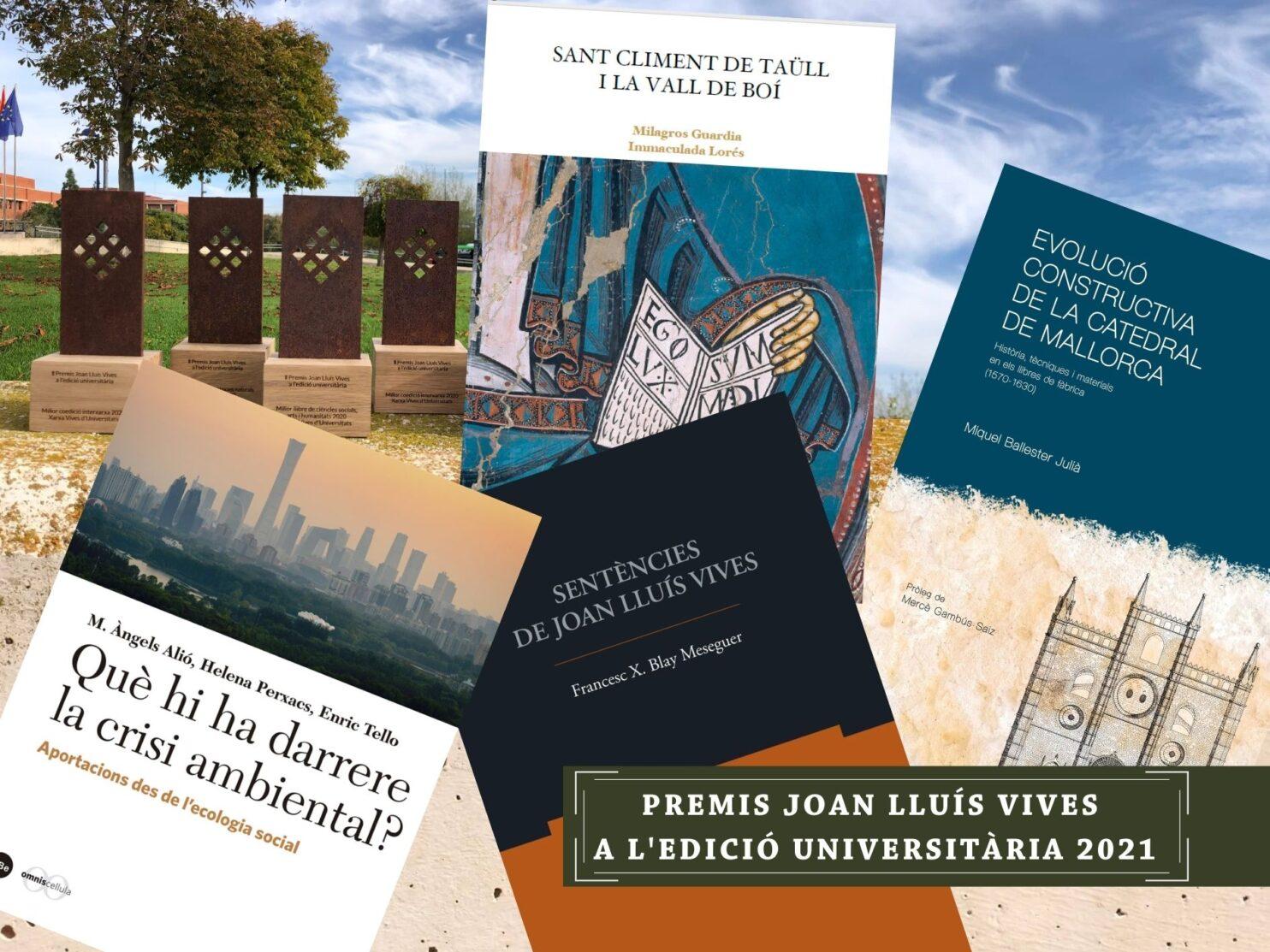 Premis Joan Lluís Vives a l'edició universitària 2021 web home